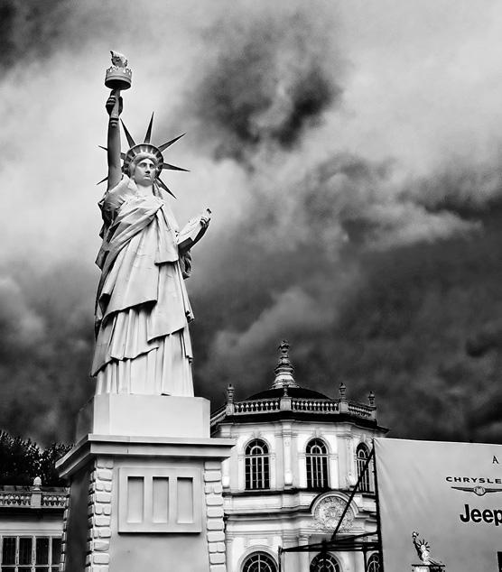 """фото """"Статуя американской свободы в Кусково"""" метки: жанр,"""