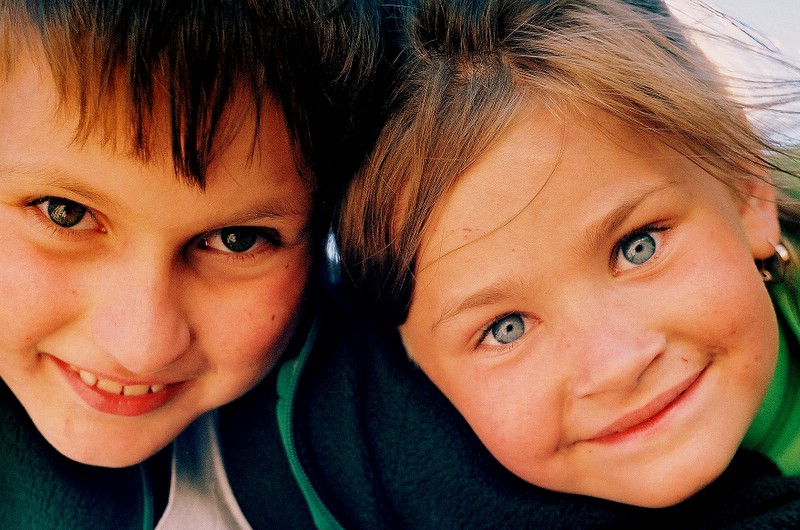 "photo ""Jacek & Oliwia"" tags: portrait, children"