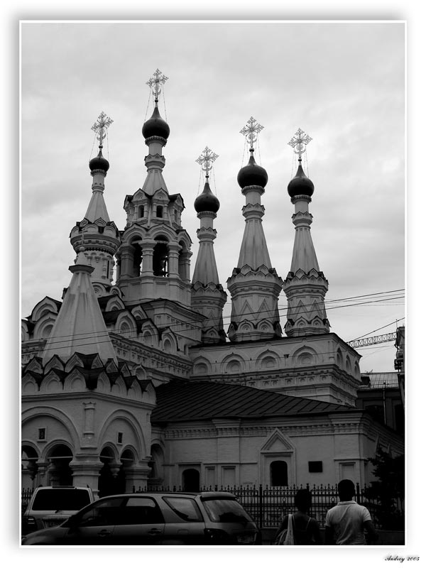 "photo ""The Moscow churches"" tags: architecture, landscape,"