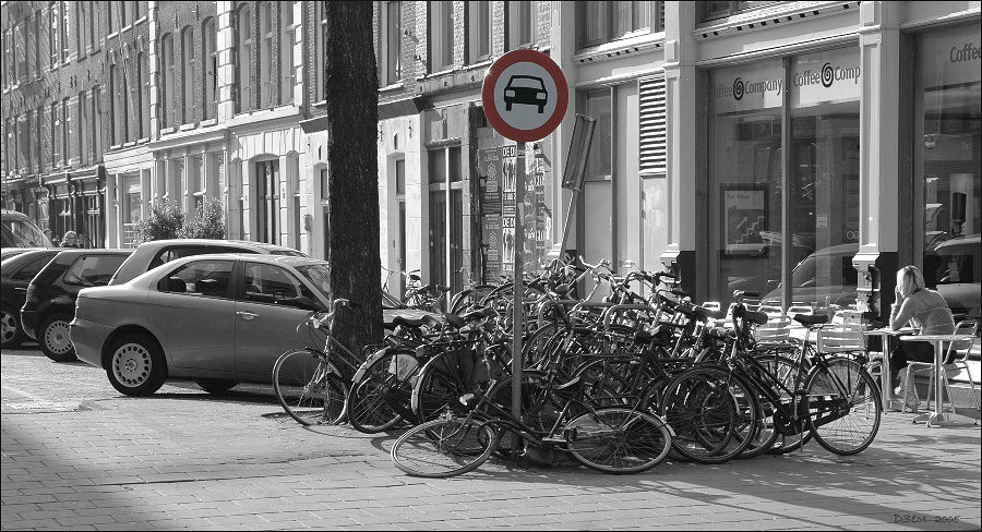 "photo ""hmm... somewhere here I have left the bicycle!"" tags: humor,"