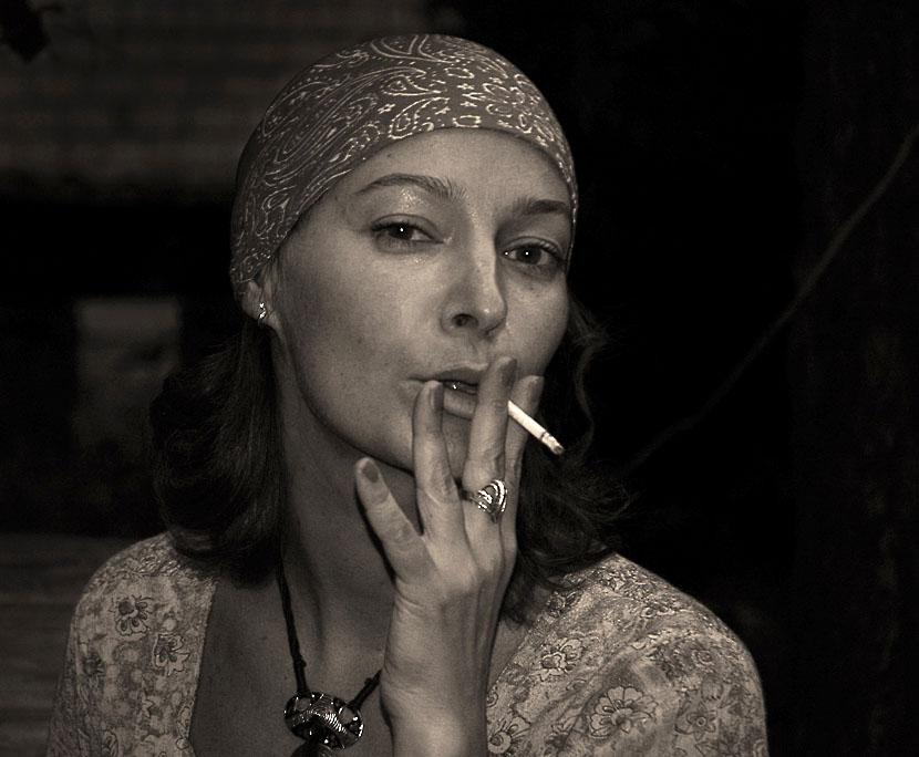 """photo """"Decadance portrait"""" tags: portrait, old-time, woman"""