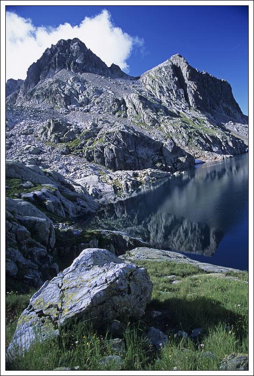 """photo """"Lac noir"""" tags: travel, landscape, Europe, mountains"""