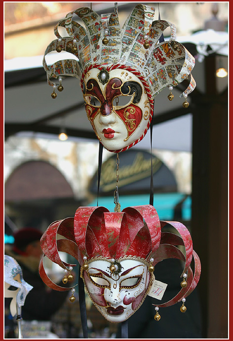 "photo ""Masks"" tags: travel, genre, Europe"