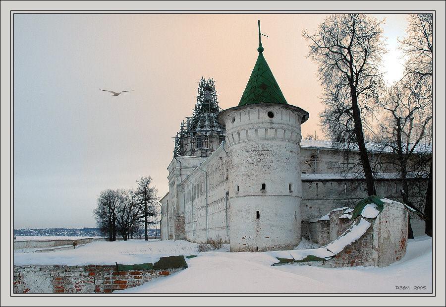 "photo ""Ipatyv's Monastery"" tags: misc.,"