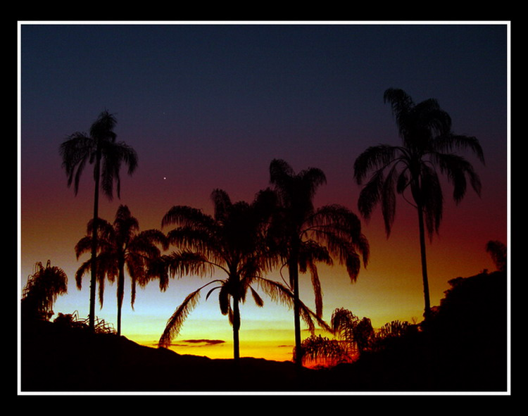 """photo """"End of day"""" tags: landscape, travel, South America, sunset"""