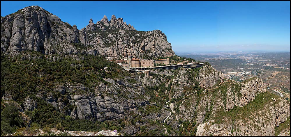 "photo ""Montserrat, Catalunya."" tags: landscape, travel, Europe, mountains"