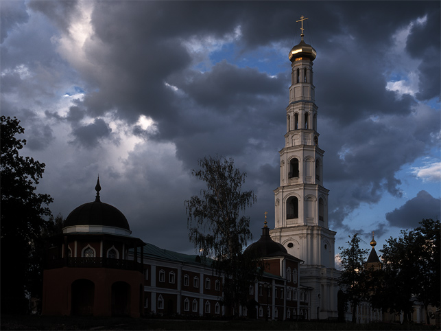 "photo ""Belltower"" tags: architecture, landscape,"