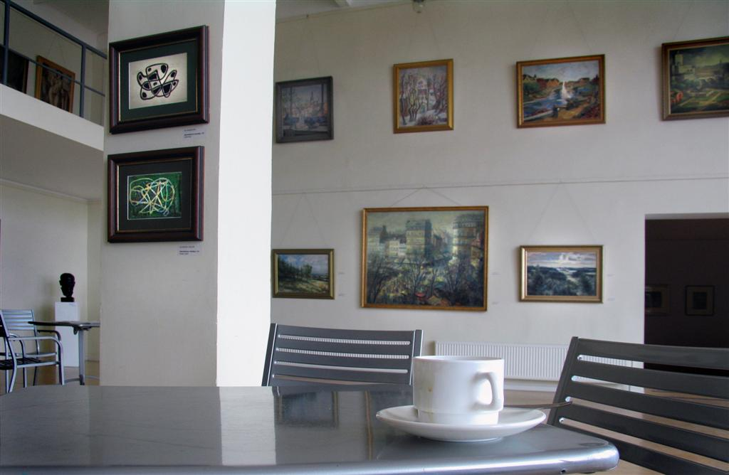 "photo ""Cup Of Coffee In Museum"" tags: still life,"