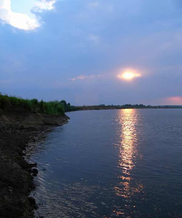 "photo ""***"" tags: landscape, sunset, water"