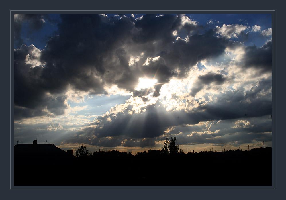 "фото ""Desde mi balcon..."" метки: пейзаж, закат, облака"