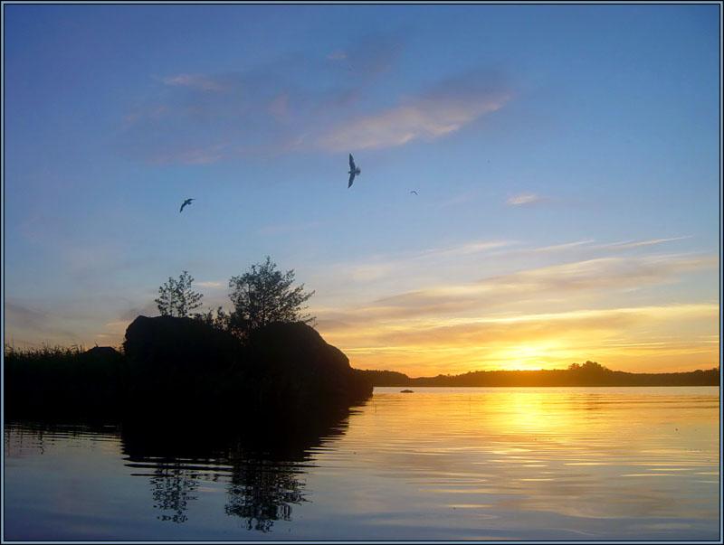 "photo ""Flight 2"" tags: landscape, clouds, sunset"