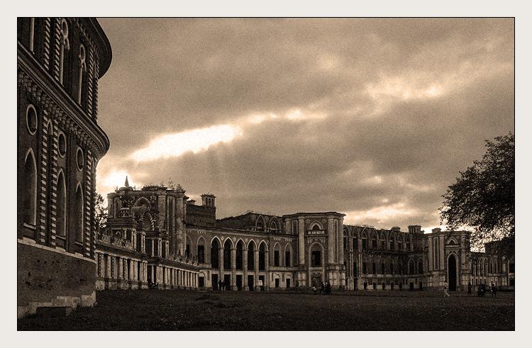 "фото ""Царицыно. Большой дворец"" метки: путешествия,"