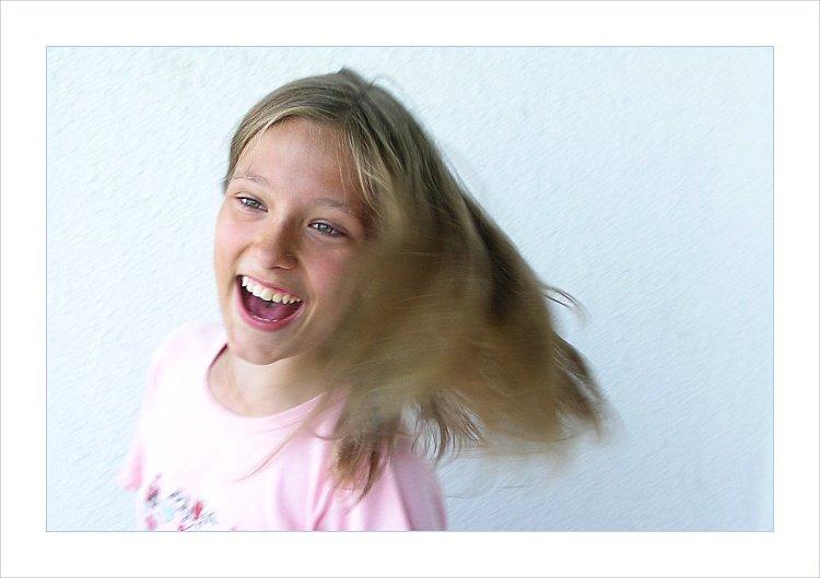 "photo ""It's Fun!"" tags: portrait, children, woman"