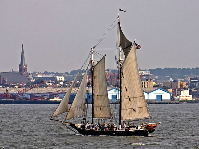 "photo ""Sail before the wind"" tags: misc., travel, North America"