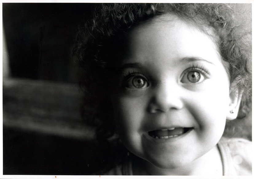 "photo ""Carolina"" tags: portrait, black&white, children"