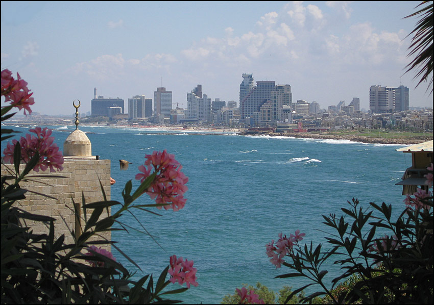 "photo ""Tel-Aviv from Old Yaffo"" tags: travel, landscape, Asia, summer"