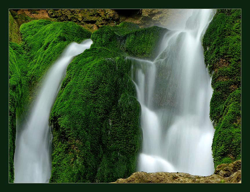 "photo ""Waterfall near Plovdiv, Bulgaria"" tags: landscape, water"