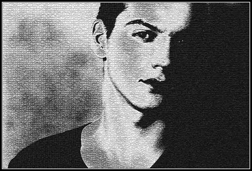 """photo """"Dualism"""" tags: portrait, montage, man"""