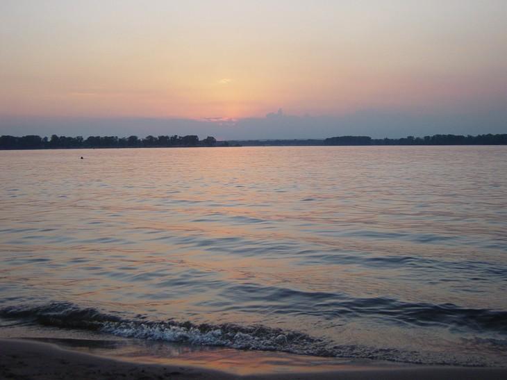 "photo ""Romantic Volga"" tags: landscape, travel, sunset"