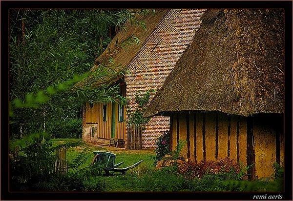 """фото """"flemish landscape"""" метки: архитектура, пейзаж, лето"""