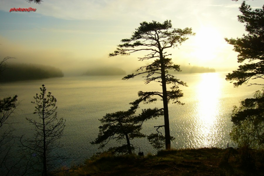 "photo ""Valaamo - 3"" tags: nature, landscape, sunset"