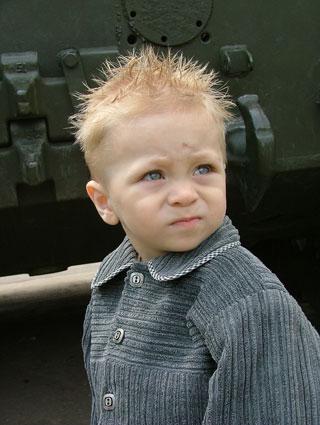 "photo ""The wrecker"" tags: portrait, children"