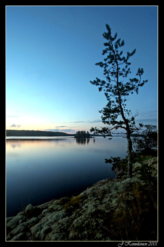 "photo ""Lake Saimaa"" tags: nature,"