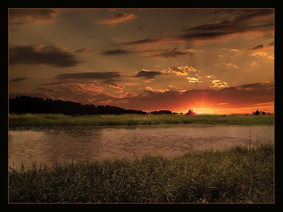 """фото """"прогулки по излюбленым местам"""" метки: пейзаж, закат, лето"""