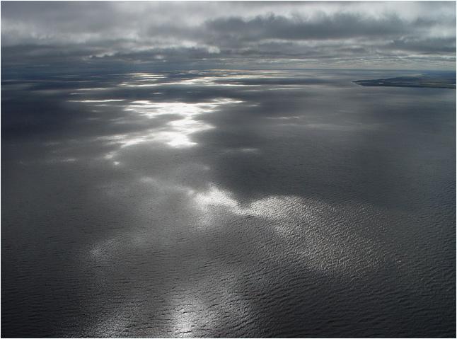 "фото ""над Енисеем"" метки: пейзаж, вода, облака"