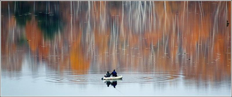"""photo """"Autumn for two"""" tags: genre, landscape, autumn"""