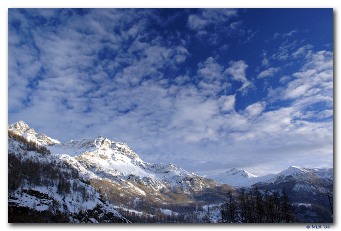 "фото ""Sunset in the mountain"" метки: пейзаж, горы"
