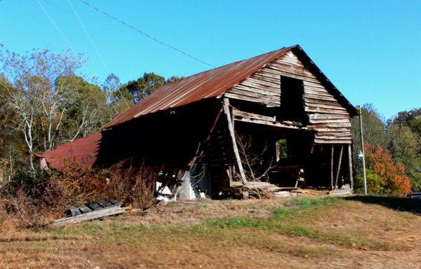 """photo """"old barn"""" tags: architecture, nature, landscape,"""