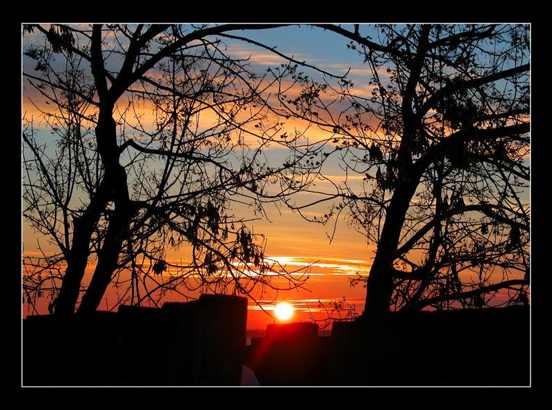 "фото ""farewell"" метки: пейзаж, закат, зима"
