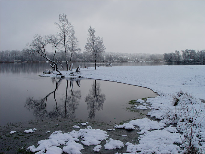 "photo ""Etude"" tags: landscape, water, winter"
