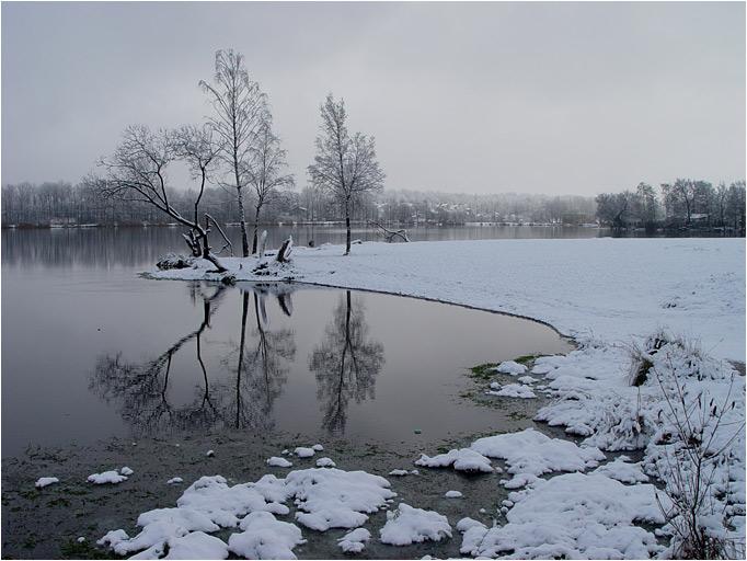 """фото """"Этюд"""" метки: пейзаж, вода, зима"""