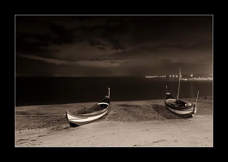 """фото """"Dark night"""" метки: пейзаж, вода, ночь"""