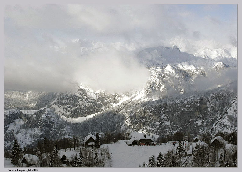 """photo """"Living on the Edge"""" tags: landscape, mountains, winter"""