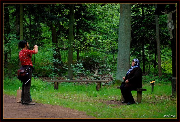 "фото ""two cultures ! (?)"" метки: портрет, репортаж, женщина"