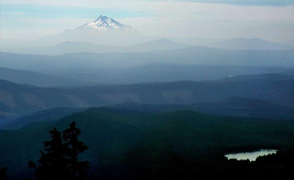 "фото ""Mount Jeferson"" метки: путешествия, пейзаж,"