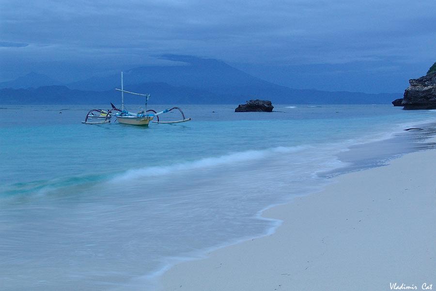"""фото """"Где-то здесь находится рай..."""" метки: пейзаж, путешествия, Азия, ночь"""