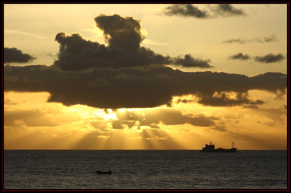 "photo ""Sunset Boulevard"" tags: landscape, sunset"