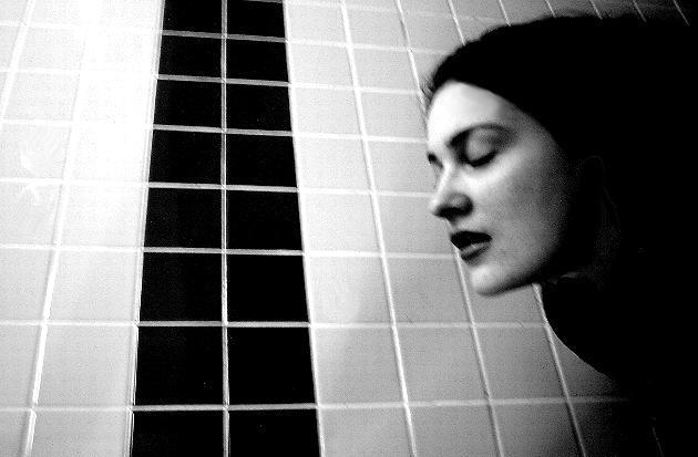 """photo """"Escape"""" tags: portrait, black&white, woman"""