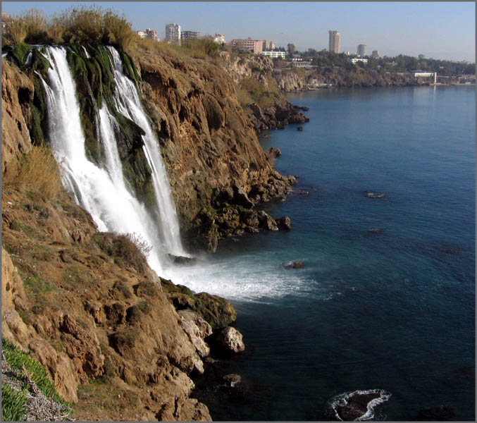 "фото ""Duden waterfall"" метки: пейзаж, путешествия, Азия, вода"