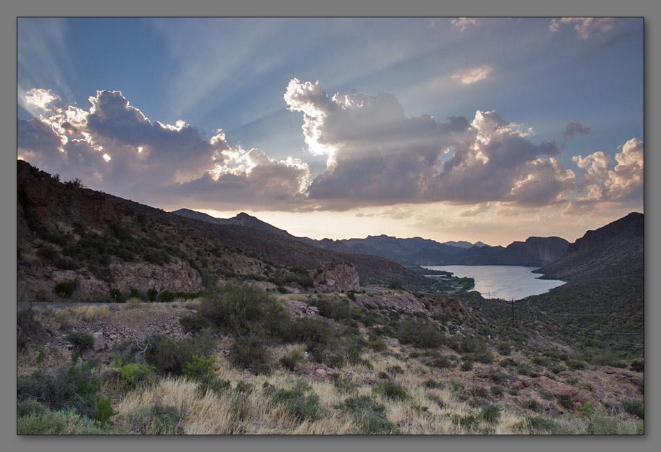 """фото """"Закат на планете Земля"""" метки: пейзаж, путешествия, Северная Америка, осень"""