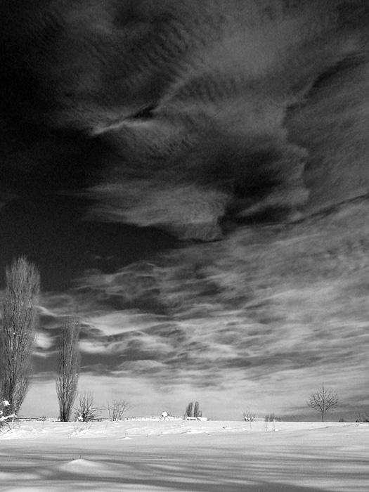 "фото ""-"" метки: пейзаж, зима, облака"