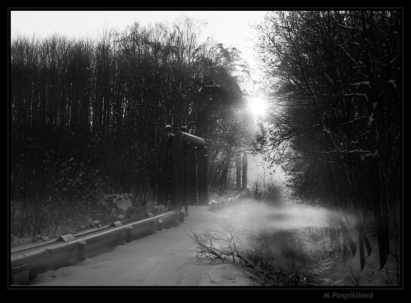 "фото ""Ecliptic"" метки: пейзаж, черно-белые, зима"