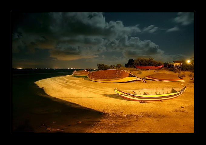 "фото ""Full moon light"" метки: пейзаж, вода, ночь"