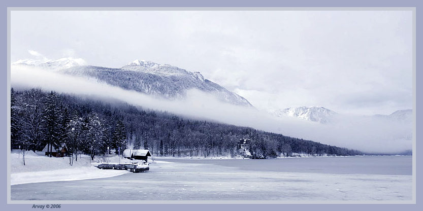 """photo """"Silence"""" tags: landscape, mountains, winter"""