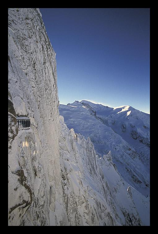 "фото ""Вид на Монблан"" метки: пейзаж, горы, зима"