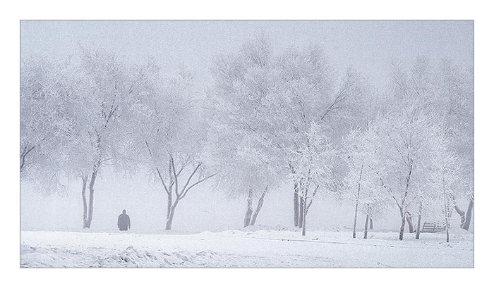 """фото """"Прогулка"""" метки: пейзаж, зима"""